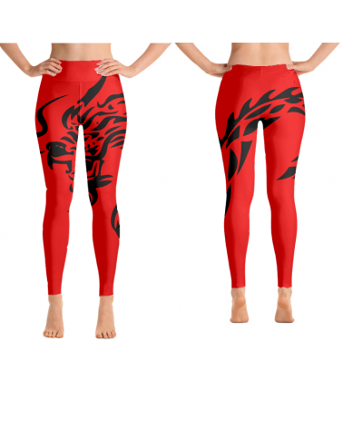 Custom Red Dragon leggings...