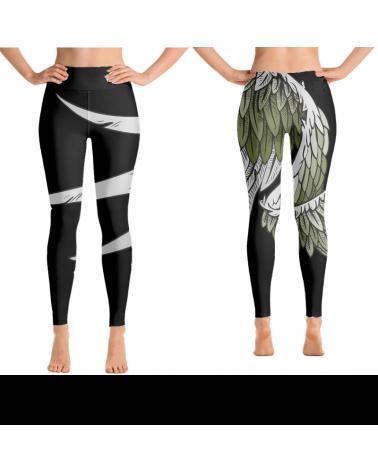Custom black leggings and...