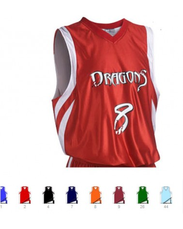Custom  Downtown reversible basketball jersey |  Design Yours - Fast Shipping
