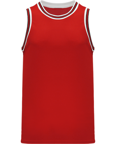 Custom NBA Old School Chicago Retro Throwback Vintage Basketball Jersey | Design Yours - Fast Shipping