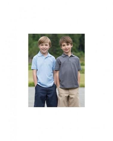 Custom  Youth Silk Touch Pique Sport shirt |  No- Minimium