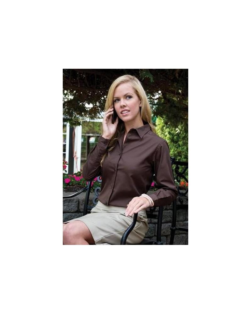 Custom Easy Care Long Sleeve Ladies | No- Minimium