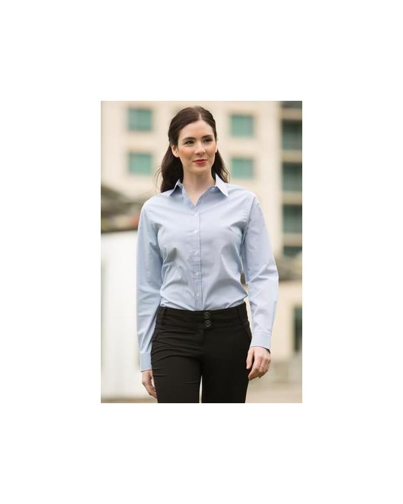 Custom Mini Stripe Ladies Woven shirt | No- Minimium