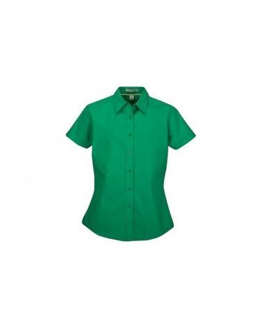 Custom  Easy Care Short Sleeve Ladies ustomizeshirt |  No- Minimium