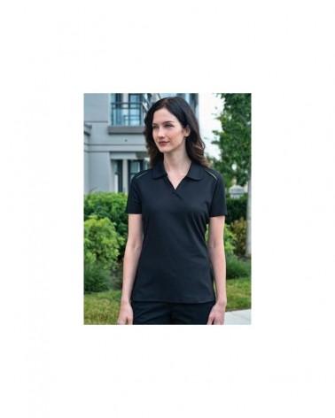 Custom Snag Resistant Contrast Inset Ladies Sport shirt | No- Minimium