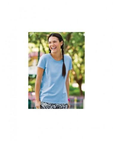 Custom  Ladies Fruit of the Loom Heavy Cotton H TShirt |  No- Minimium
