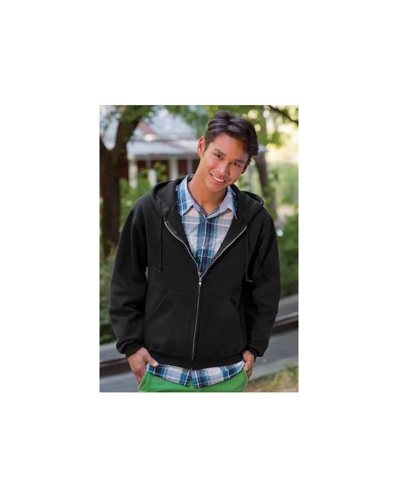 Custom Fruit of the Loom SuperCotton Full Zip HoodeSweat shirt | No- Minimium
