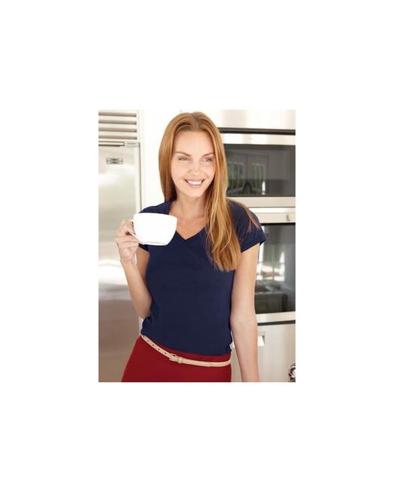 Custom Softstyle VNeck Ladies T shirt | No- Minimium