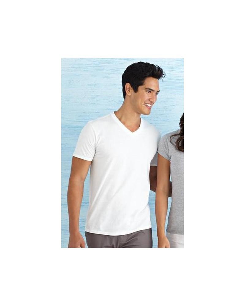 Custom Softstyle VNeck T shirt | No- Minimium