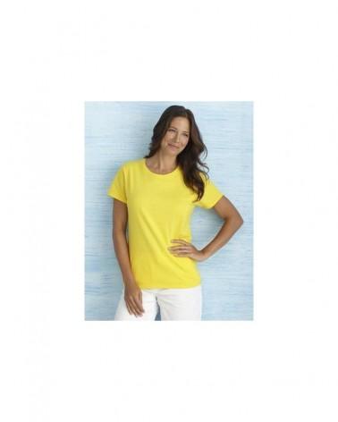 Custom Heavy Cotton Missy Fit T shirt L   No- Minimium