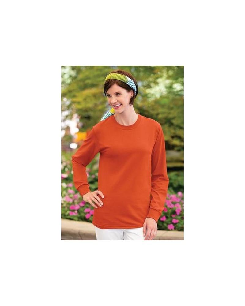 Custom Fruit of the Loom Heavy Cotton Long Sleeves T shirt | No- Minimium