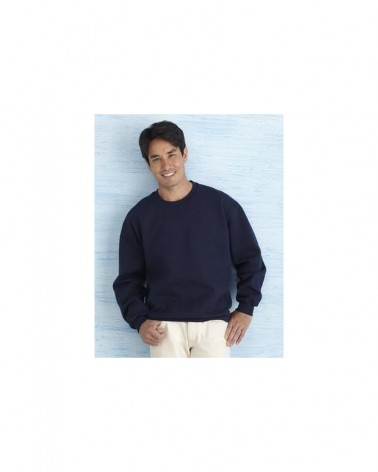 Custom Premium Cotton Ring Spun Fleece Crewneck Sweat d | No- Minimium