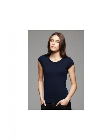 Custom Sheer jersey Longer Length Ladies Tee | No- Minimium