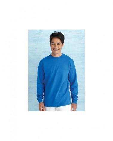 Custom  Heavy Cotton Long Sleeve T shirt |  No- Minimium