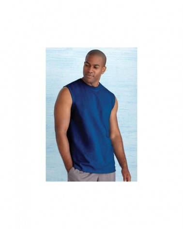 Custom  Ultra Cotton Sleeveless T shirt |  No- Minimium