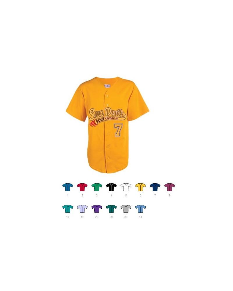 Custom Hot Corner full button jersey | No- Minimium