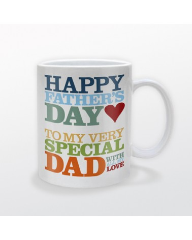 Personalized Fathers Day Coffee Mug | Design Yours - Fast Shipping