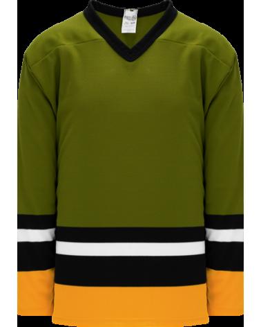 BRAMPTON OLIVE hockey jerseys