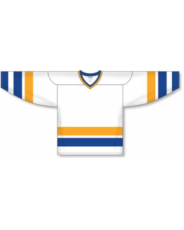 Chiefs Hockey Jerseys - Slapshot White, Royal, Gold
