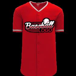 Custom Anaheim Team MLB Blank Baseball jersey