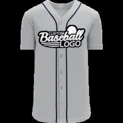 Custom Detroit Blank MLB Blank Baseball jersey Gray