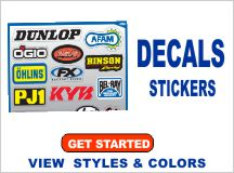 Custom Decals and Stickers