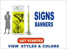 Custom Signs and Banners