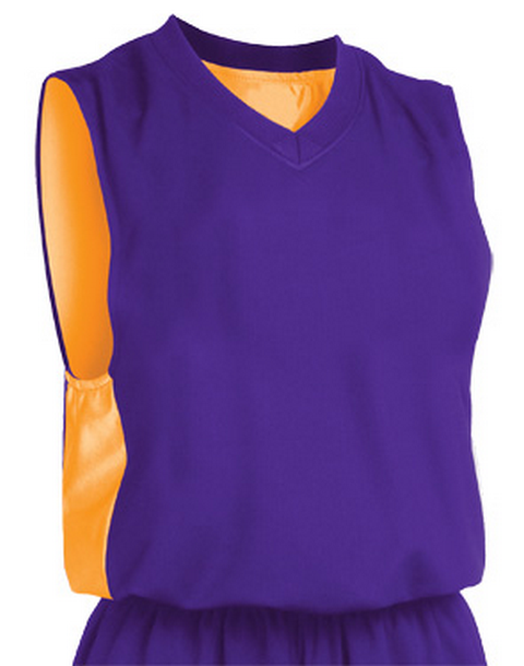 Reversible Mesh basketball jersey