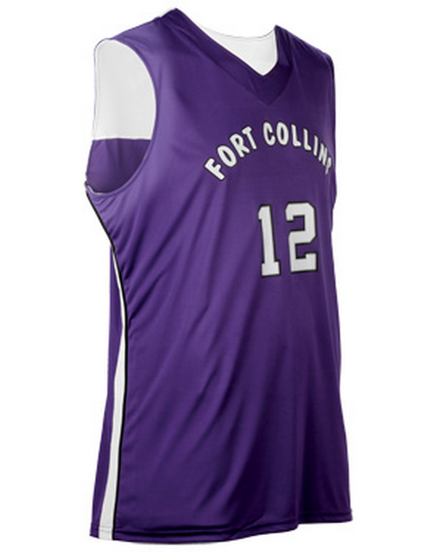 Custom Triple Double Reversible basketball jersey