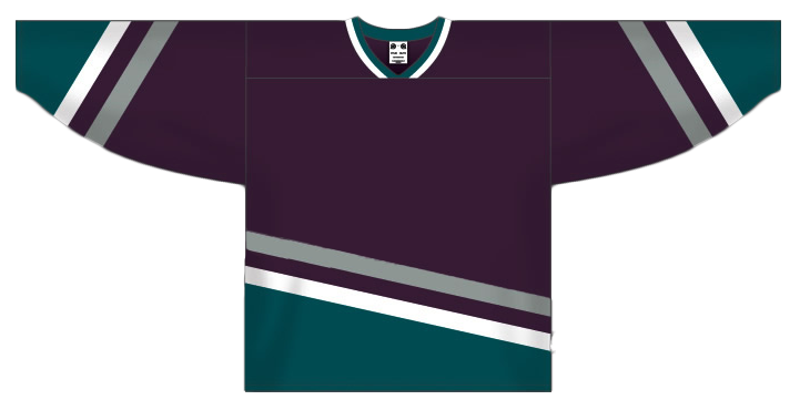 Custom Anaheim hockey jersey ana