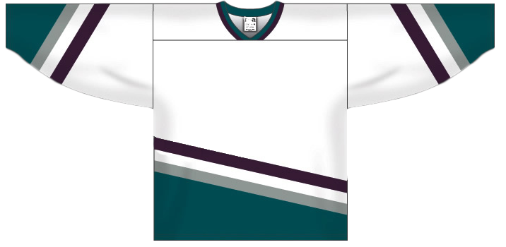 Custom Anaheim team hockey jersey ana