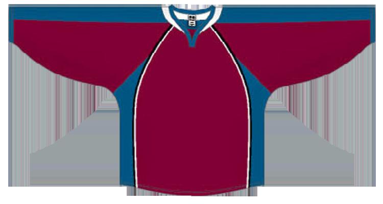 Custom Colorado team hockey jersey