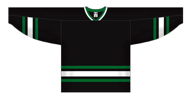 Custom Dallas olschool team hockey jersey dal | Design Your Own | No Min