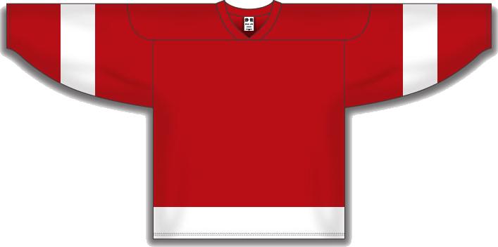 Custom Detroit team hockey jersey det