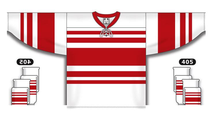 Custom Detroit pro team hockey jersey deta det