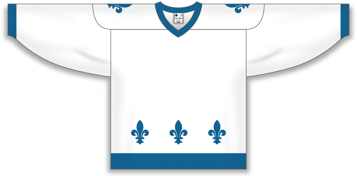 Custom Quebec Nordiques hockey jersey | Design Your Own | No Min