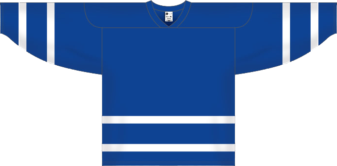 Custom Toronto blank hockey jersey | Design Your Own | No Min