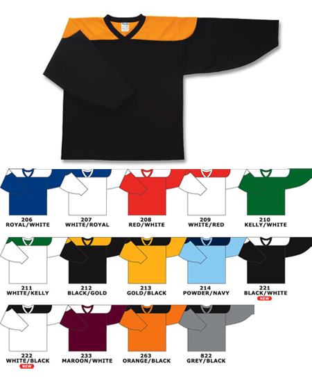 Custom *Contrast shoulder hockey jersey | Design Your Own | No Min