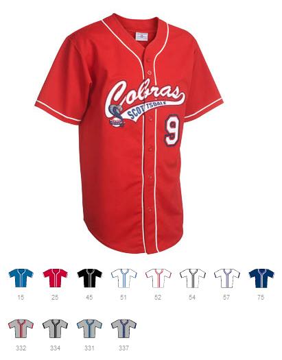 Custom Full button pipeBaseball jersey | Design Your Own | No Min