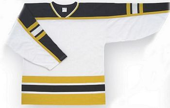 Custom Hockey Jerseys | Boston white hockey jersey bos | Design Your Own | No Min