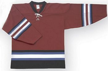 Custom Colorado hockey jersey | Design Your Own | No Min