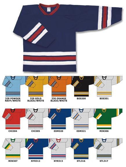 Custom izeMesh hockey ersey