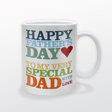 Custom Fathers Day Coffee Mug | Design Your Own | No Min