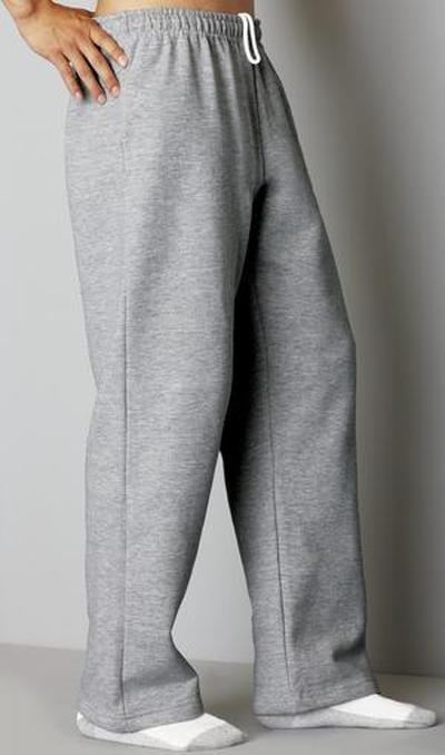 Open Bottom Sweatpants Customized