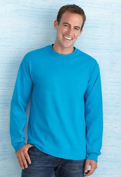 Custom  Ultra Cotton Long Sleeve T shirt |  Design Yours - Fast Shipping