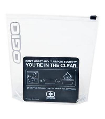 Custom OGIO Clear Quart ustomizejTravel Bag | Design Your Own | No Min