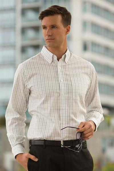 Custom  Tattersall Check Woven shirt | Design Your Own | No Min