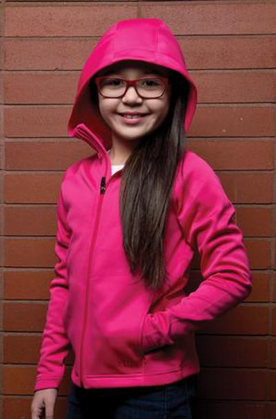 Custom Ptech Fleece Girls Hoodejacket | Design Your Own | No Min