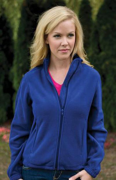 Custom Ladies Polar Fleece Jacket | Design Your Own | No Min