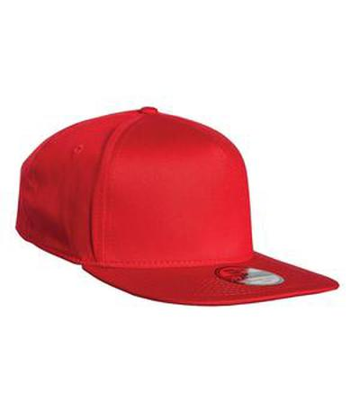 Custom New Era Flat Bill Stretch Fit Cap | Design Your Own | No Min